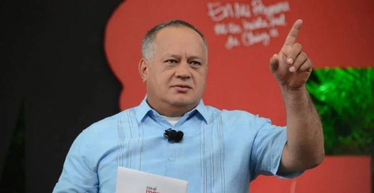 Diosdado Cabello advierte sobre la creación de ley en contra de ONG
