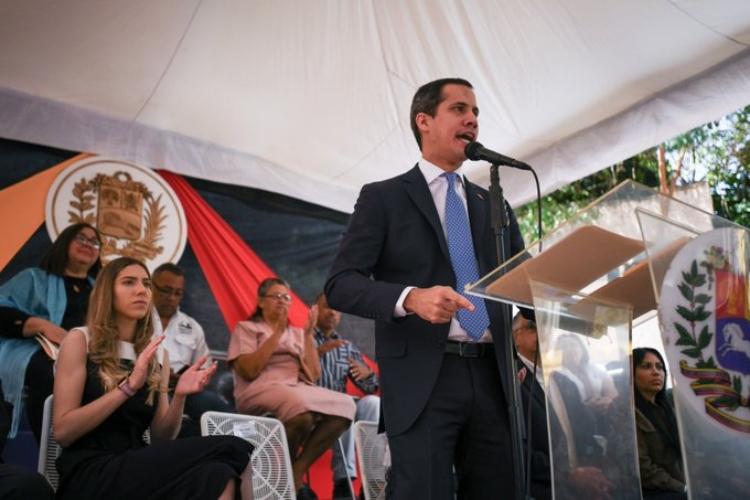 Juan Guaidó convocó a marcha