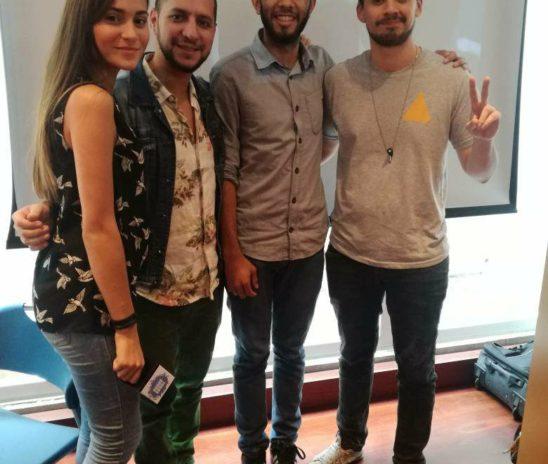 Galanes De Radio cambió el estudio en La Mega, por auditorio en La UCAB.