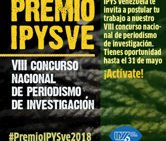Convocatoria | VIII Concurso Nacional de Periodismo de Investigación