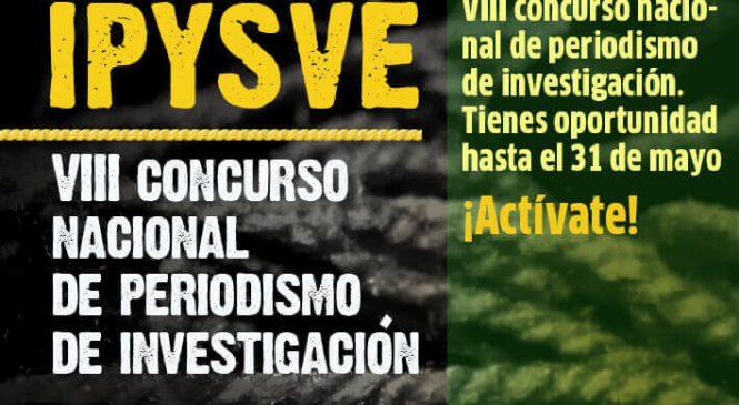 Convocatoria   VIII Concurso Nacional de Periodismo de Investigación