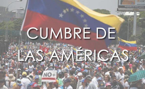 LA VERDADERA VENEZUELA DIRÁ PRESENTE EN LIMA.