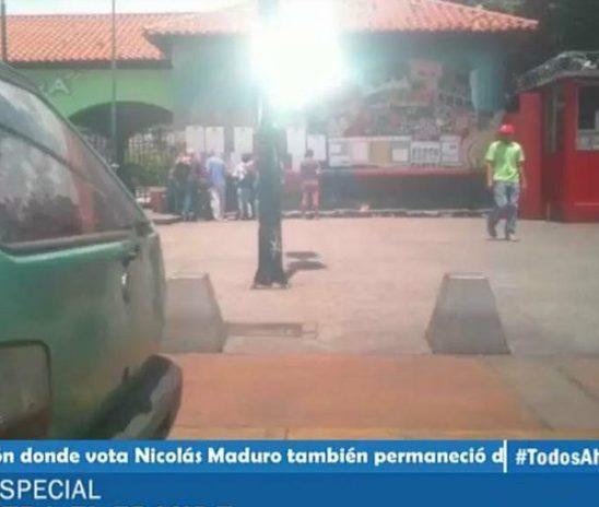 La presencia de Nicolás Maduro no motivó a los vecinos de Catia.