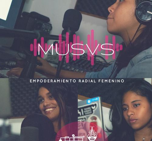 «Musas – Empoderamiento radial femenino»