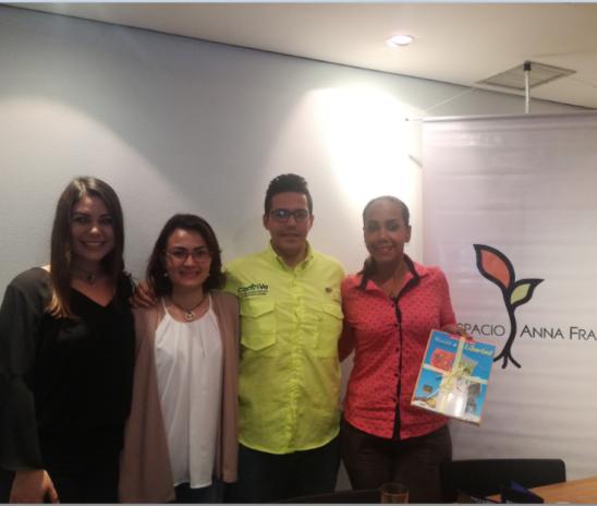 Cuatro jóvenes líderes contaron sus experiencias de llevar una organización civil en Venezuela.