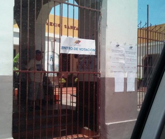 Más puntos rojos que votantes en Cumaná