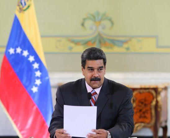 Maduro anuncia cambios en el gabinete de gobierno