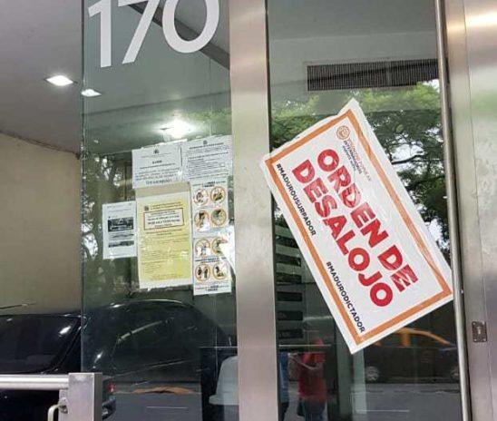 """Embajada de Venezuela en Argentina amaneció con """"orden de desalojo"""""""