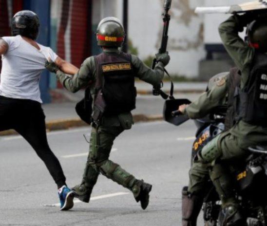 Recrudece la represión en Venezuela