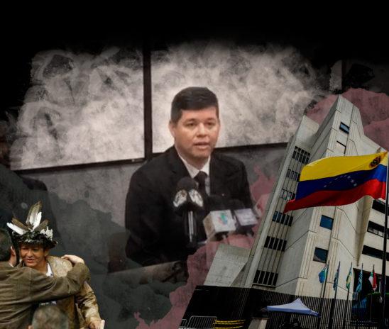 Christian Zerpa, un magistrado de la Sala Electoral del TSJ que anuló derechos políticos