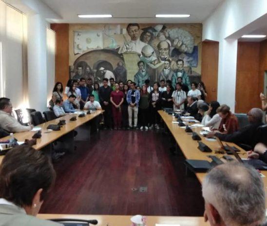 Ucevistas exigieron en Consejo Universitario que se reconozca a Juan Guaidó como Presidente (E)