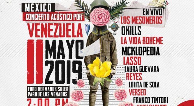 Concierto en México por la Ayuda Humanitaria venezolana
