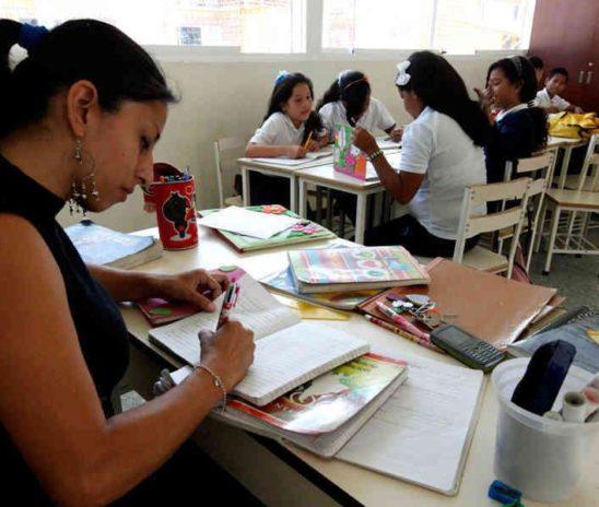 El gremio de educadores es uno de los más afectados en la actual crisis