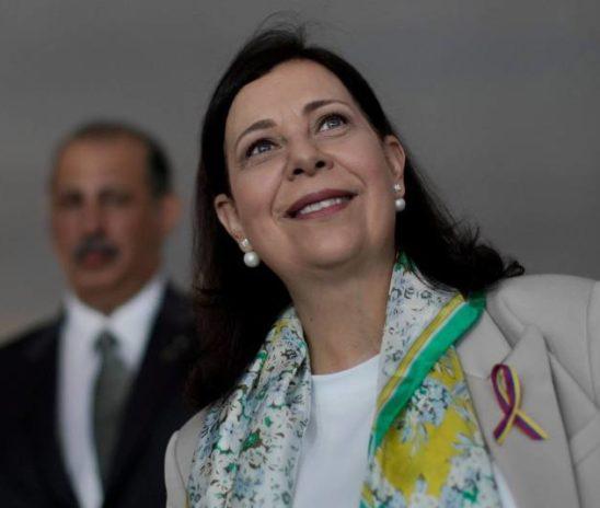 María Teresa Belandria fue reconocida como embajadora de Venezuela en Brasil por Jair Bolsonaro