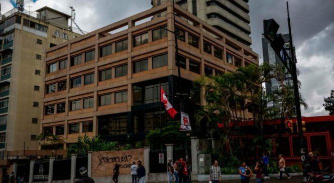Embajada de Canadá suspende temporalmente actividades consulares en Venezuela