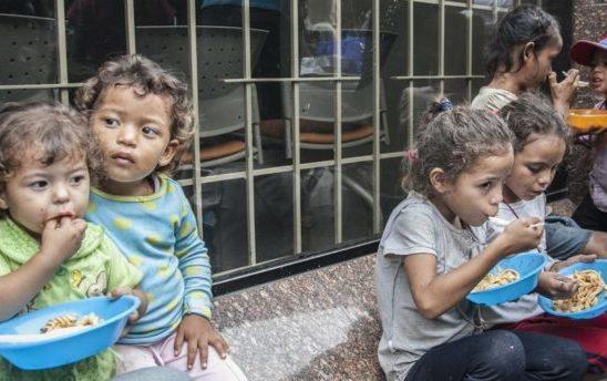 Los niños en Táchira tienen hambre