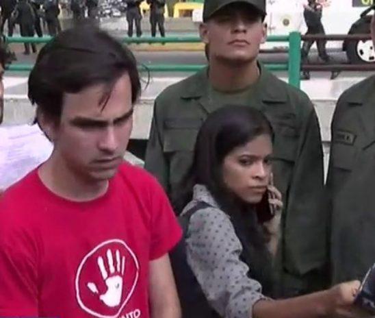 Movimiento estudiantil entregó petitorio a la FANB en Fuerte Tiuna