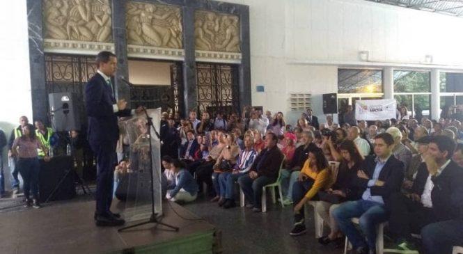 Guaidó reiteró el llamado a salir a las calles el próximo 16 de noviembre