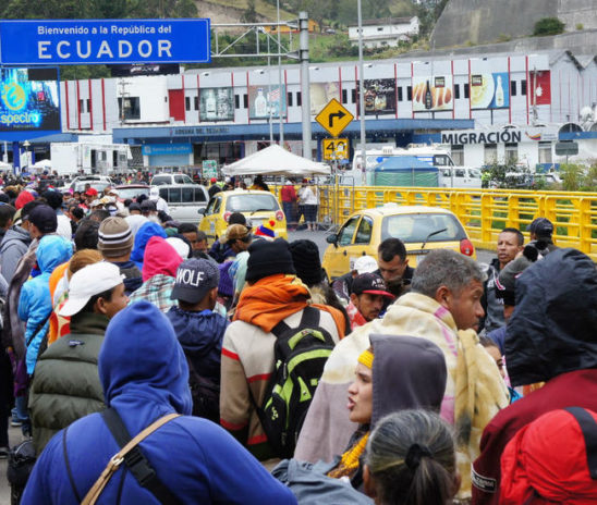 Ecuador alimentará a venezolanos con 3,2 millones dólares donados por Japón