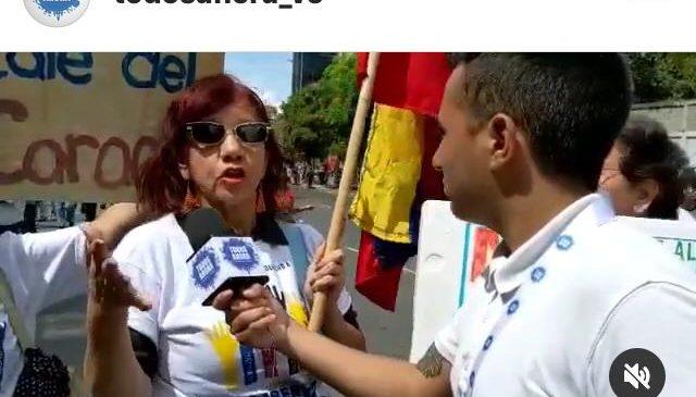 Trabajadores y Jubilados del Metro de Caracas se unieron a la marcha