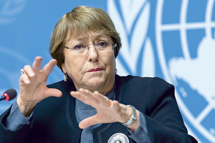 Michelle Bachelet, Alta Comisionada para los DD HH de la ONU