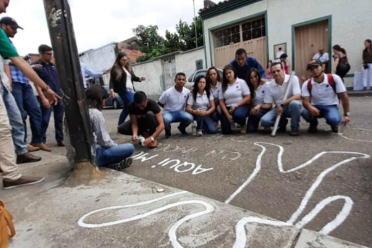 Justicia para joven asesinado en Táchira