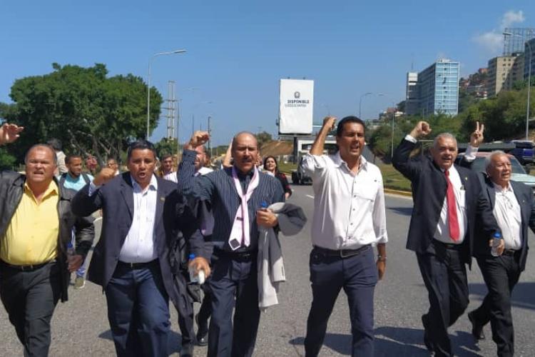 Regreso de Guaidó al país