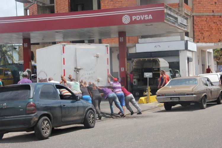 Anzoátegui, siete detenidos por contrabando de gasolina. Foto: Cortesía
