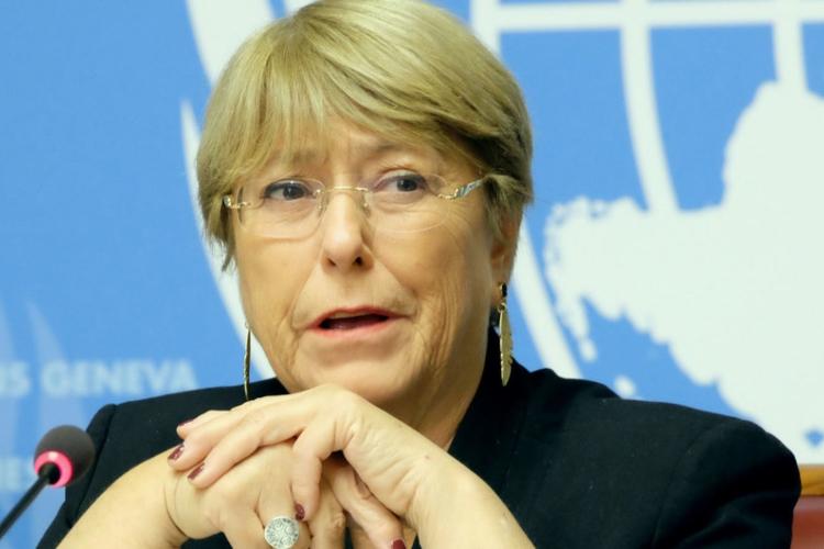 Michell Bachelet. Foto cortesía: Radio U de Chile.
