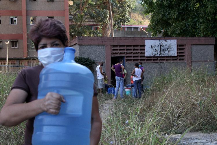 Caracas sin agua / Foto referencia