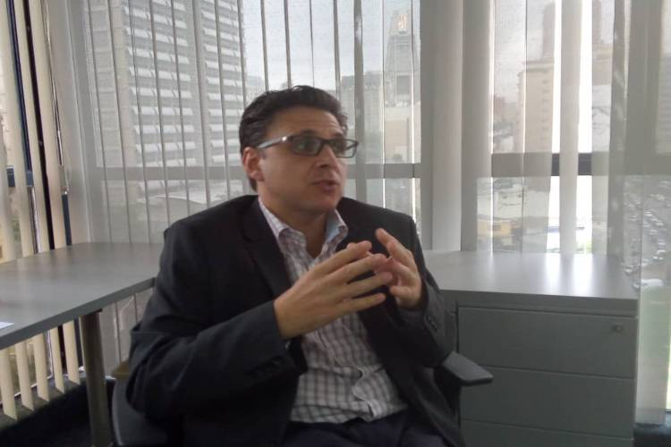 Felipe Capozzolo, presidente de Consecomercio