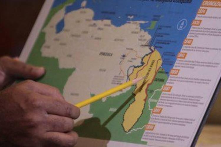 Esequibo, un territorio que ha causado disputas en la historia de Venezuela. Foto: Cortesía