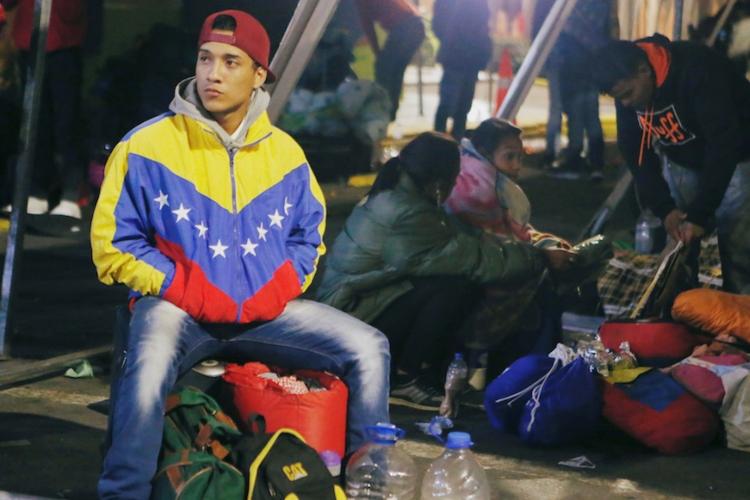 Migrantes venezolanos. Migración Colombia