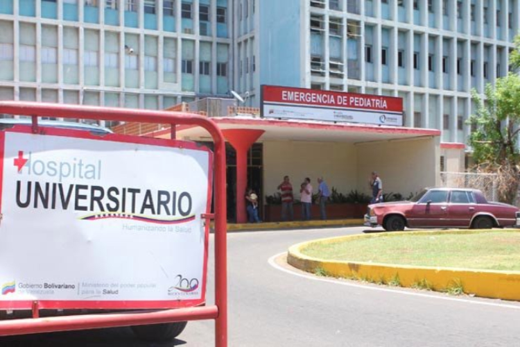 Hospital Universitario de Maracaibo / Foto Cortesía