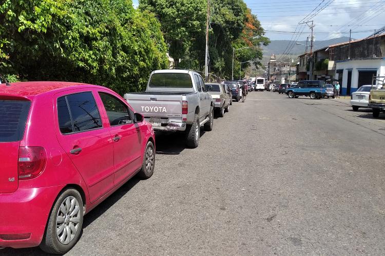 Gasolina municipio Junín - Táchira / Foto Todos Ahora