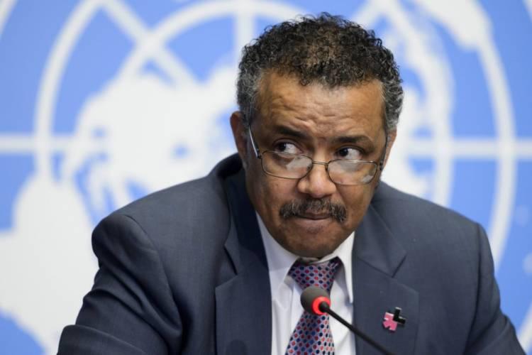 Director general de la Organización Mundial de la Salud, Tedros Adhanom Ghebreyesus