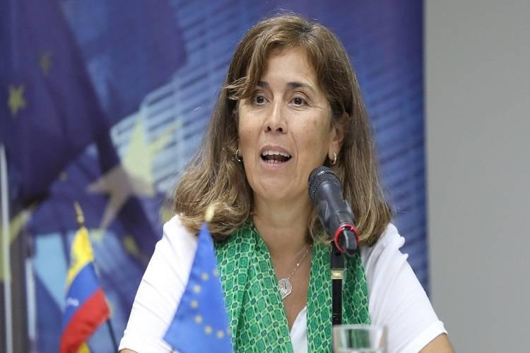 Isabel Brilhante, embajadora de la UE en Venezuela. Foto: Cortesía