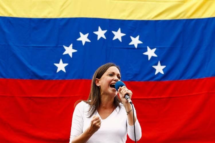 María Corina Machado / Foto Brookings Institution