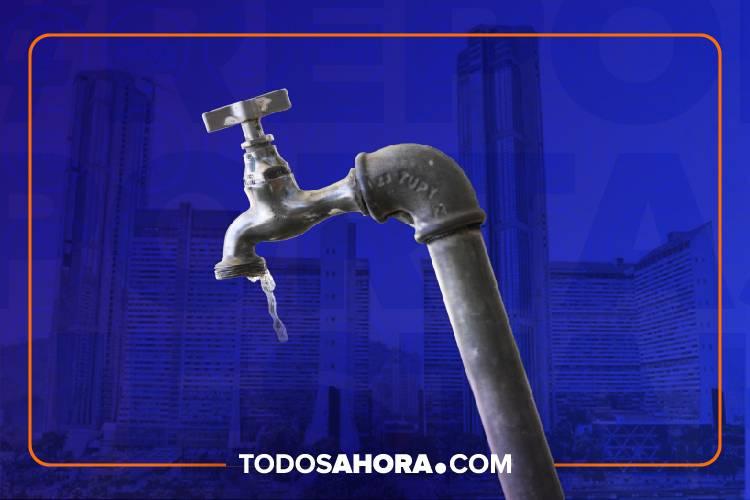 Reportaje sobre el agua en Caracas. Foto: Todos Ahora