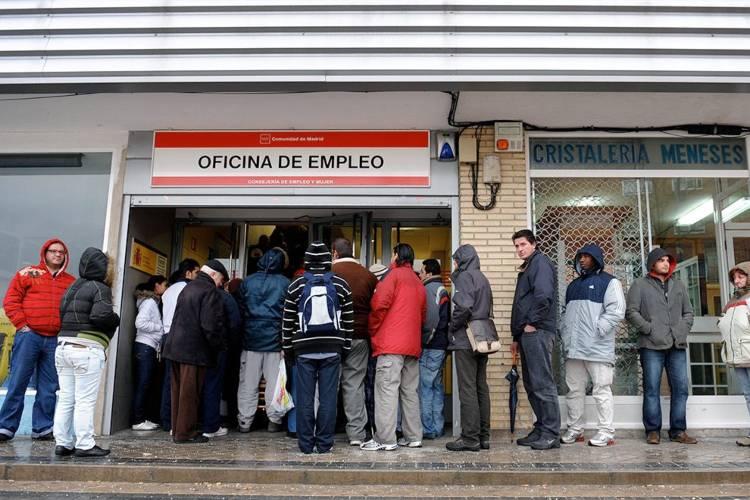 Desempleo en España. Foto: Cortesía