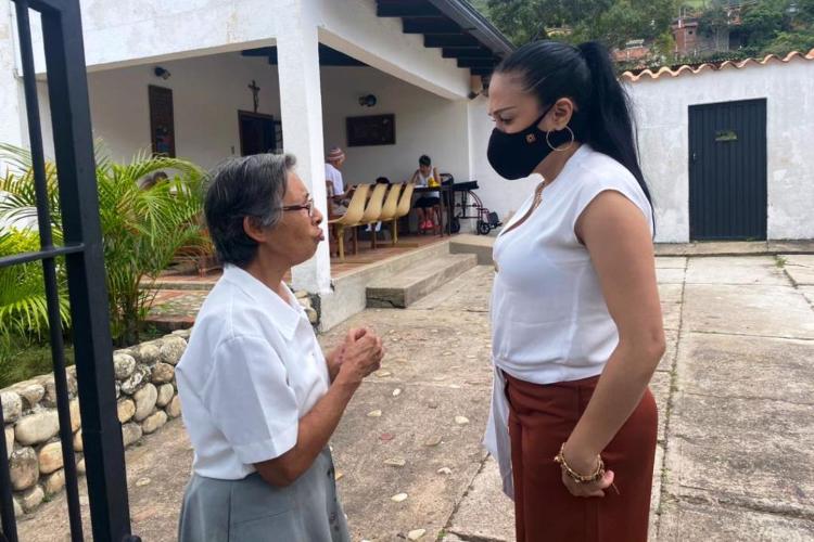 Gobernadora edo Táchira / Foto DIRCI