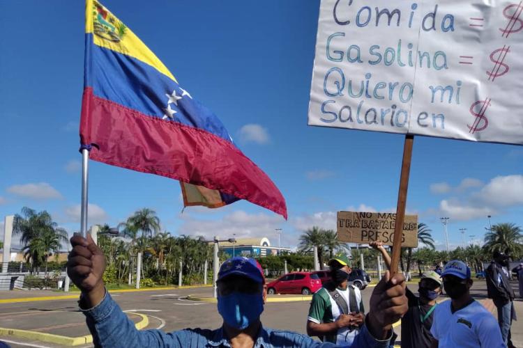 Trabajadores de las industrias básicas Guayana / Foto Todos Ahora