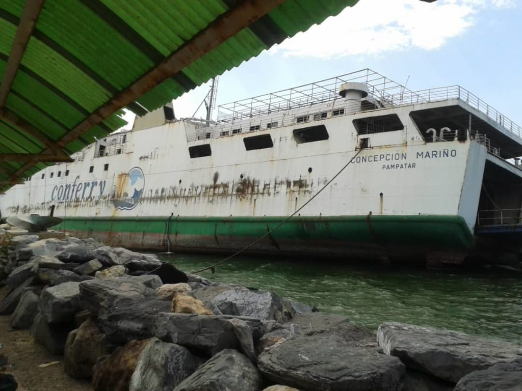 Turismo en Venezuela. Ferry
