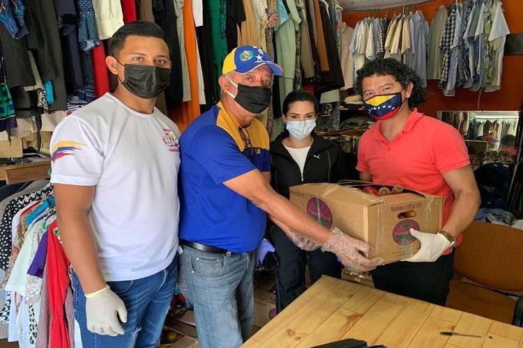 Imagen cortesía. Ayudas de la Embajada de Venezuela en Costa Rica