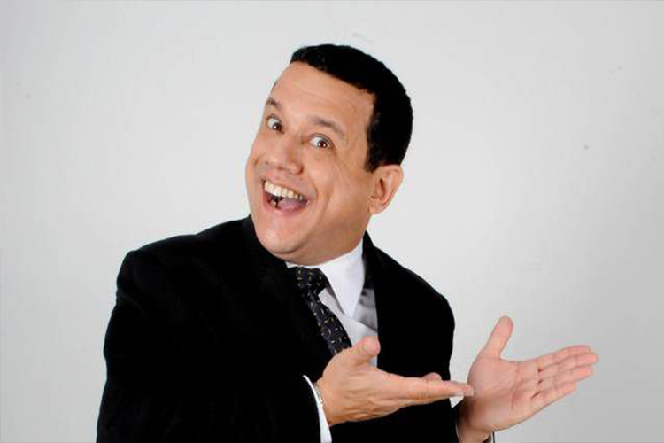 Emilio Lovera, humorista, actor de televisión, teatro y doblaje.   Foto: referencial