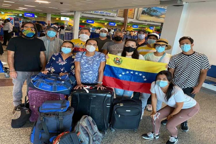 Venezolanos en República Dominicana / Foto Cortesía
