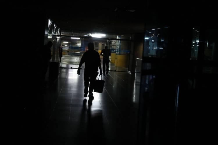 Caracas sin luz.