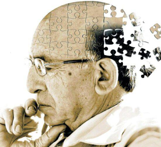 Alzheimer en personas mayores.