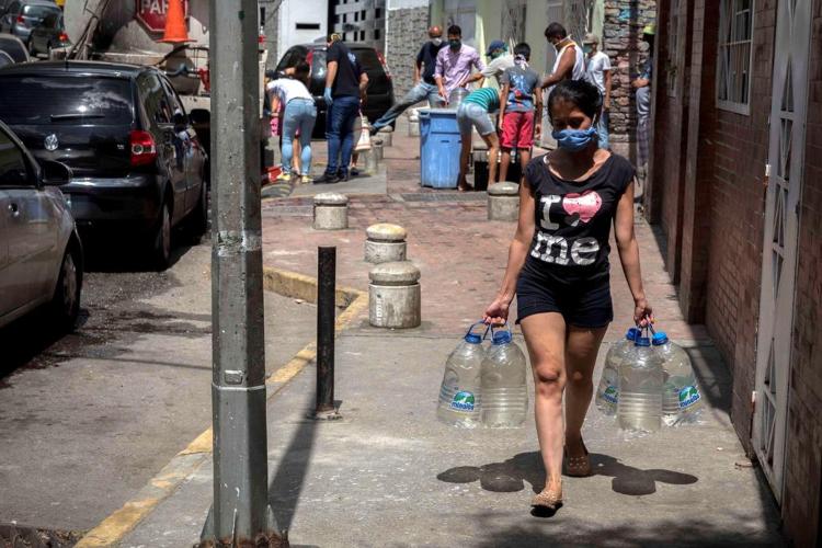Caracas sin agua / Foto referencial