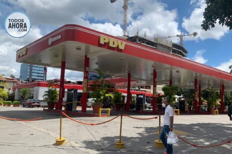Estaciones de servicio en Caracas